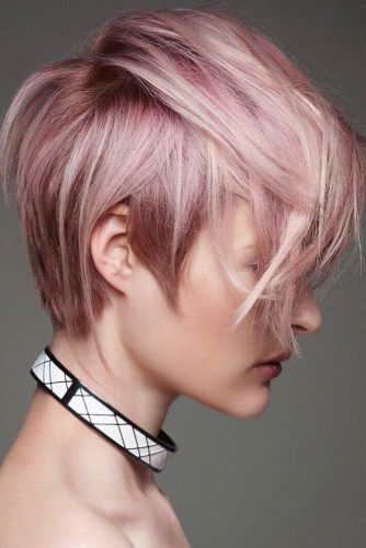 30 Best Hairstyles for Valentines Day | Brown pixie hair, Short .