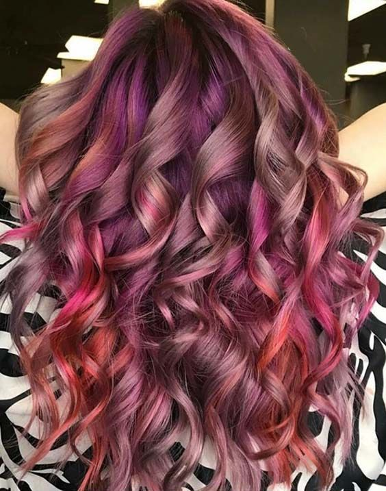 22 Stunning Valentine's Day Hair Color Ideas for 2018 (With images .