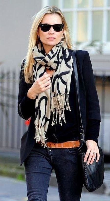 Happy Birthday Kate Moss - Trend report on her chic street style .