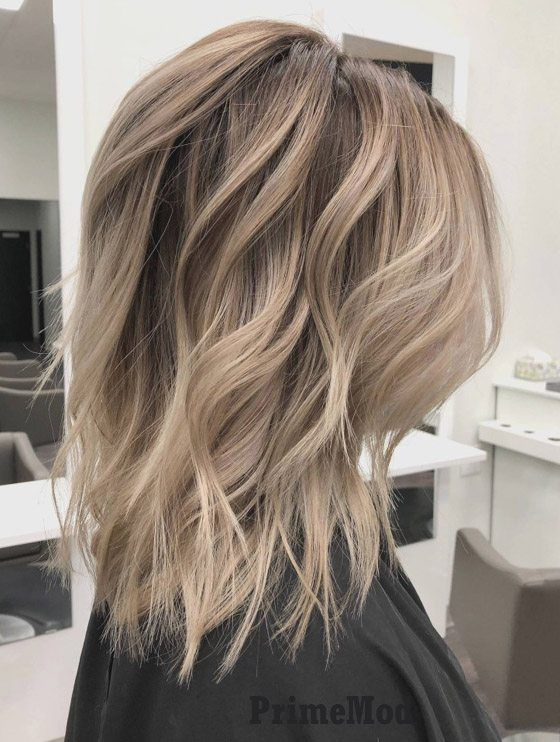 Delightful Mid Length Haircuts & Hairstyle Trends for 2019 .