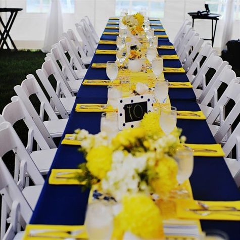 Best Navy Blue Party Decorations