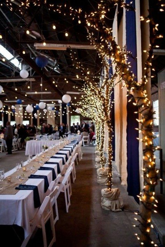 25 Best Navy Blue Party Decorations | Hochzeit thema, Tischdeko .