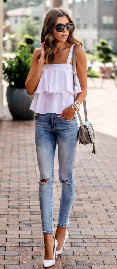 45 Trending Summer Outfits You Should Wear Now | Classy summer .