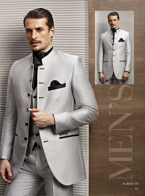Best Man Suits Tailcoat Slim Fit collar tunic Chinese tunic Men .