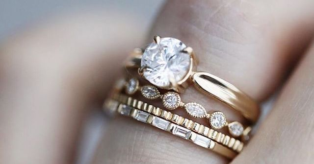 25 Baguette Wedding Bands That Look So Timeless | Who What We