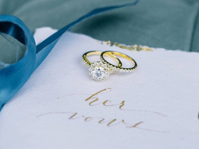 How to Pair Your Engagement Ring With a Wedding Band - WeddingWi