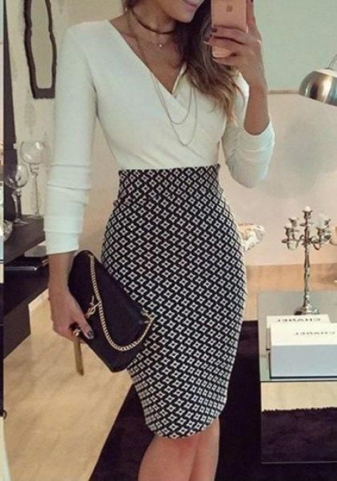 Best Professional Skirt Outfits for Work