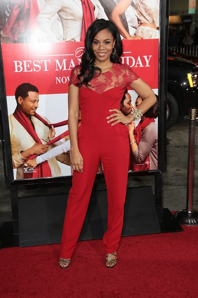 "Fashion Files: Regina Hall - ""The Best Man Holiday"" Los Angeles ."
