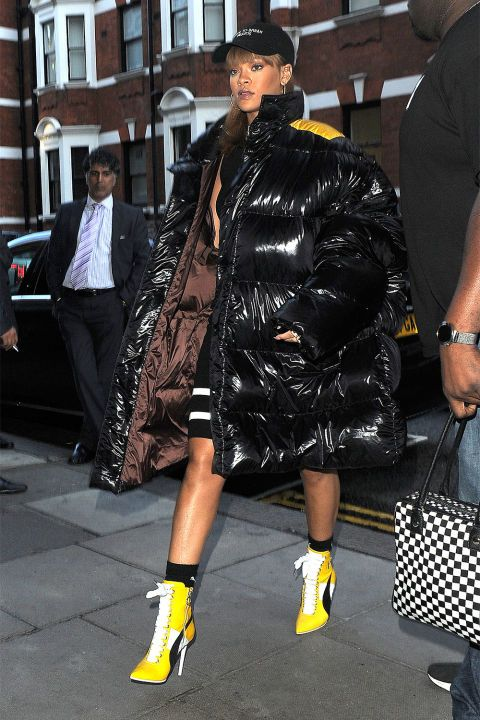 15 Bold Rihanna Coats to Inspire Your Winter Wardrobe | Rihanna .