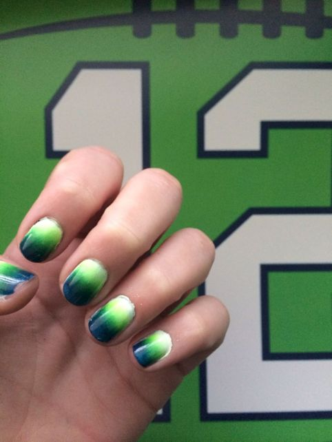 70 Awesome Seahawks Nails Design Ideas that Must You See - Fashion .