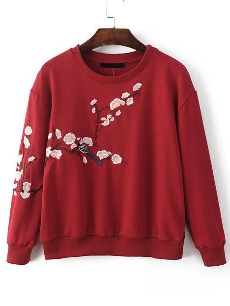 15 Best Sweaters Ideas You Must Have | Embroidered sweatshirts .