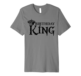 Amazon.com: Birthday King cute present party theme outfit idea for .