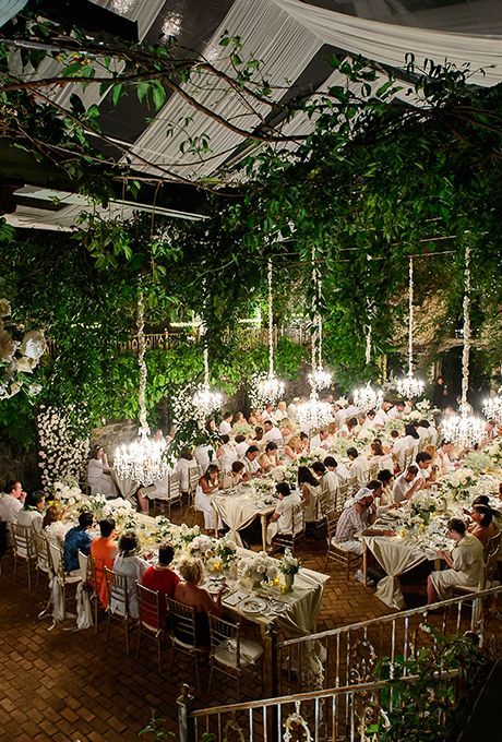 Real Weddings | Best wedding venues, Indoor garden wedding .