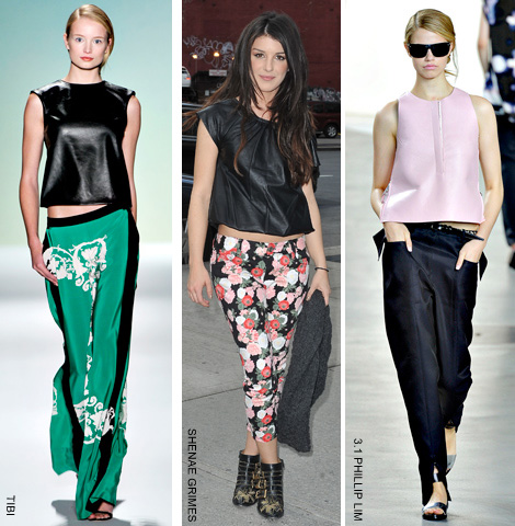 We Love Leather Tops: Copy This Luxe Trend | FASHI