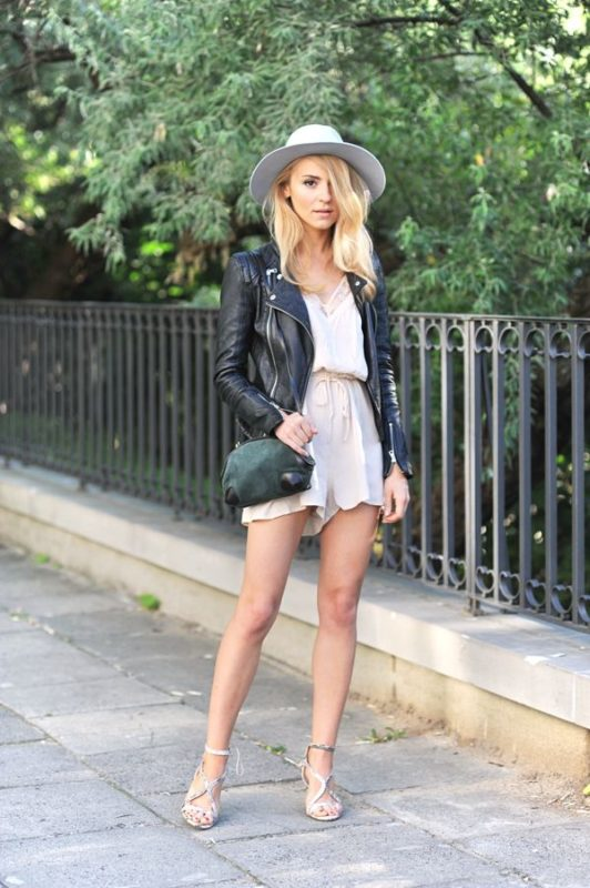 Best Way to Wear Leather in The Summer