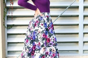 15 Best Ways How to Wear Floral Prints   Fashion, Modest outfits .