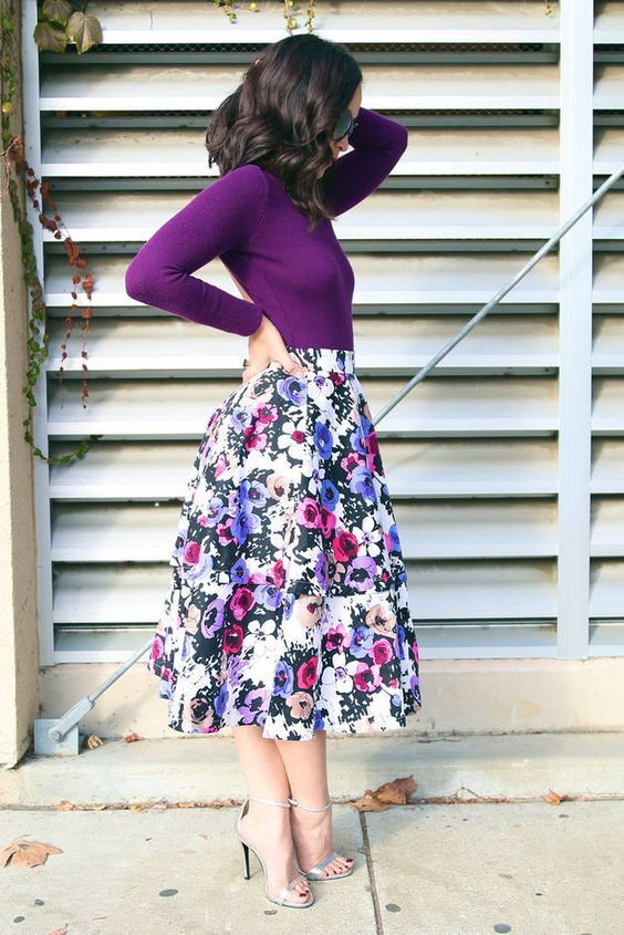Best Ways How to Wear Floral Prints