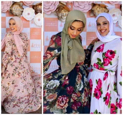 Hijab with Floral Outfits-30 Ways to Wear Hijab with Flora