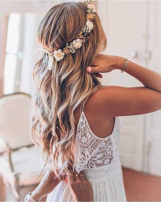 54 Elegant Wedding Hairstyle For the Most Beautiful Bride - Page .
