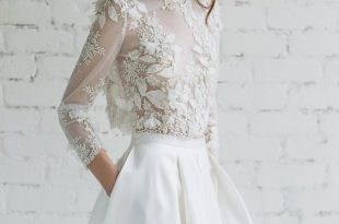 Best White Lace Inspiration   Lace weddings, Bridal tops, Bridal .
