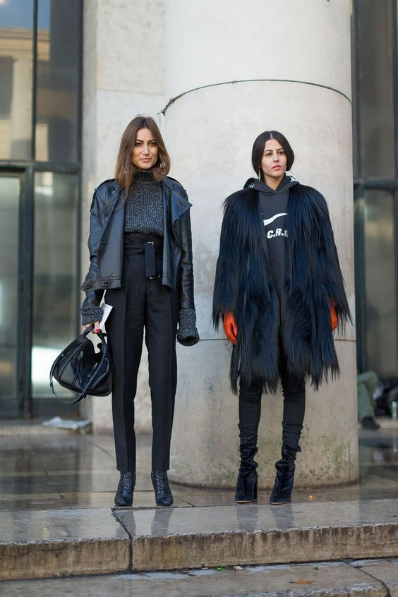Street Style : Get some Parisian outfit inspiration from the best .