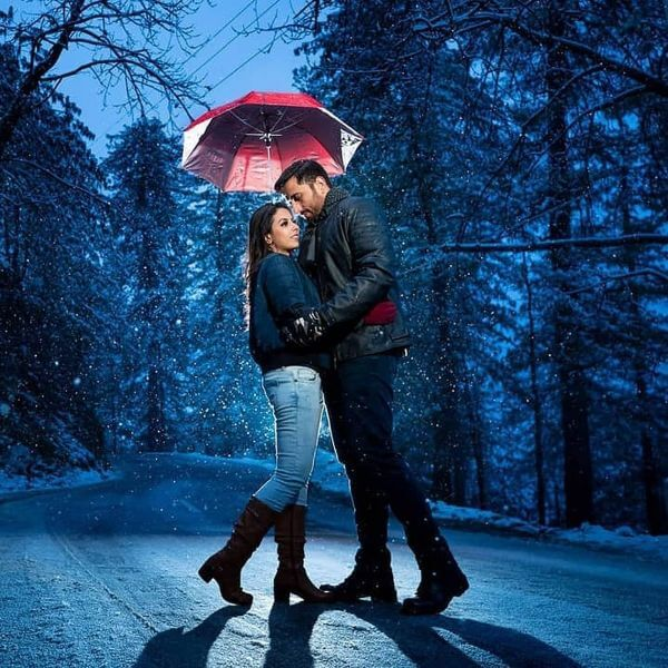 Winter Pre-Wedding Photoshoot Ideas with Beautiful Locations - K4 .