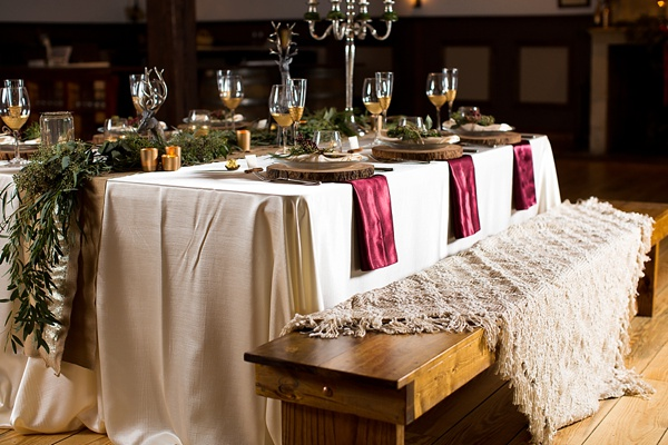 Feature Friday: Rustic Winter Wedding Styled Sho