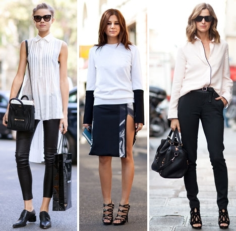 black and white outfits | To Wear A Rainb
