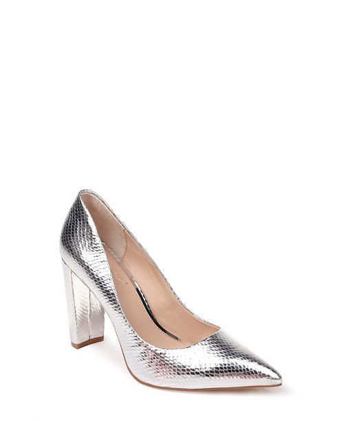 Jewel Badgley Mischka Rumor II Block Heel Pumps & Reviews - Pumps .