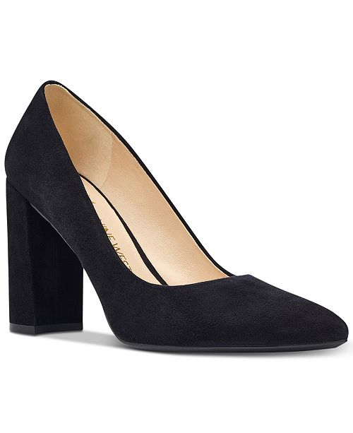 Nine West Astoria Block-Heel Pumps & Reviews - Heels & Pumps .