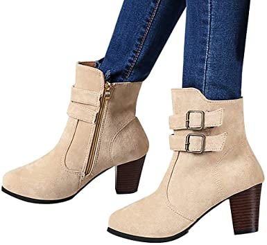 Amazon.com: Hemlock Ankle Boots Women,Ladies Winter Dress Boots .