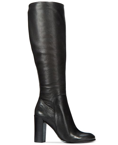 Kenneth Cole New York Women's Justin Block-Heel Tall Boots .