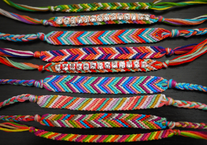 DIY Friendship Bracelet - Honestly W