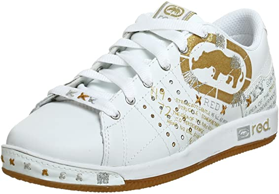 Amazon.com | Rhino Red Women's Phranz-Phahrenheit Sneaker, White .