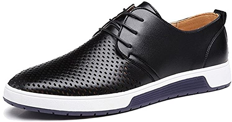 Amazon.com | JACKY'S 2020 Men and Women Casual Shoes Leather .