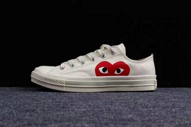 2018 All Stars Shoes 2018 New Cdg Canvas Big Eyes Hearts Brand .