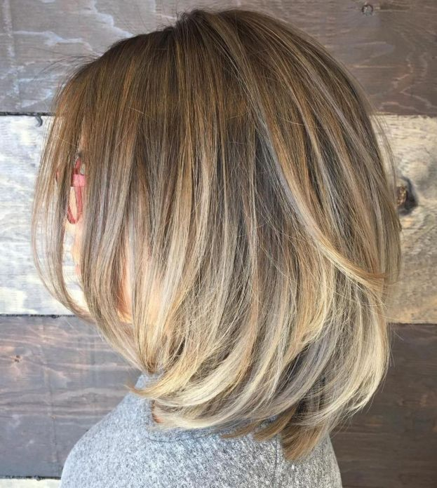 70 Brightest Medium Layered Haircuts to Light You Up | Medium .