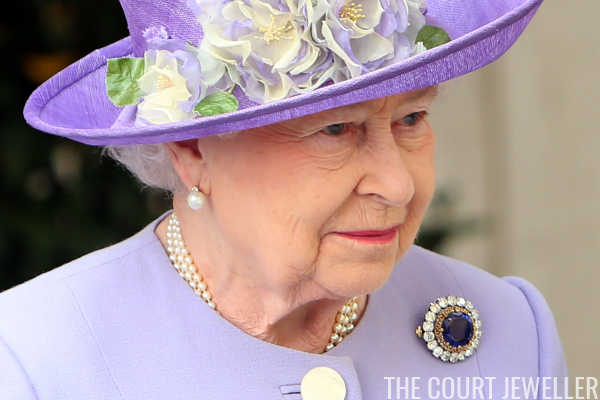 Queen Elizabeth's Sapphire Brooches | The Court Jewell