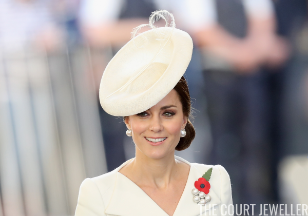The Duchess of Cambridge's Brooches | The Court Jewell