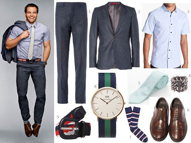young men's business casual fashion - Google Search (With images .
