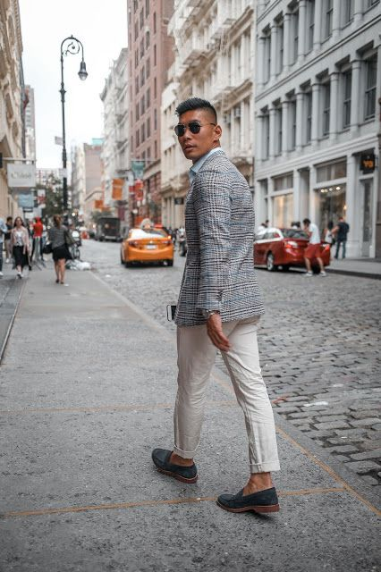 How To Wear: Summer Business Casual Two Ways | Mens fashion summer .