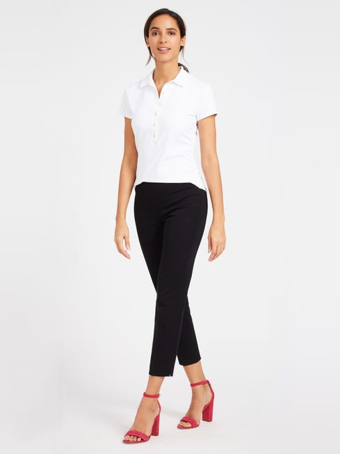 Black Dock Capri Pants | Women's Pants | J.McLaughl