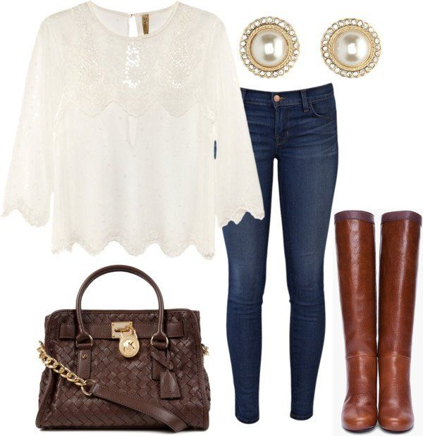 Casual-Chic Outfit Ideas for Fall - Pretty Designs | Casual chic .