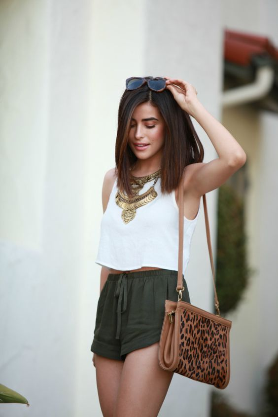 30 Casual Summer Outfit Ideas | The Crafting Nook by Titicrafty .