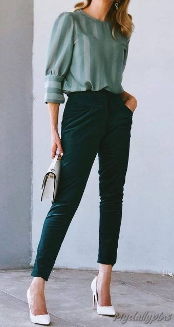 55+ Best Work Outfits For Women - My Work Outfits Blog in 2020 .