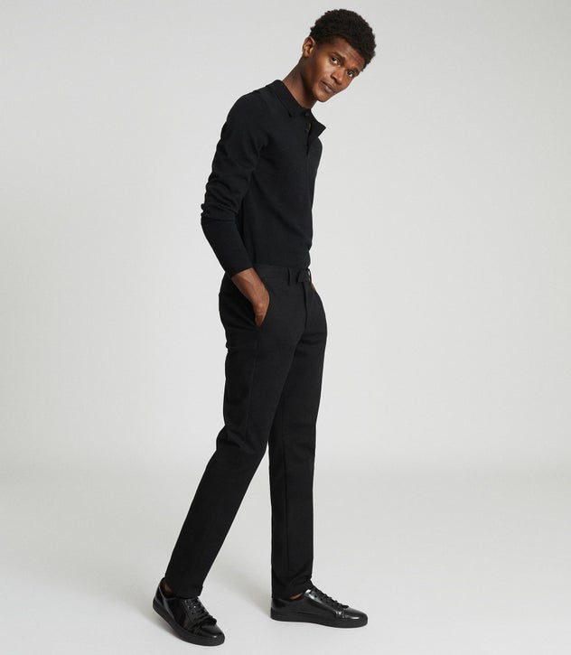 Eastbury Slim Black Slim Fit Chinos – REI