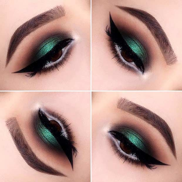 43 Christmas Makeup Ideas to Copy This Season   StayGlam .