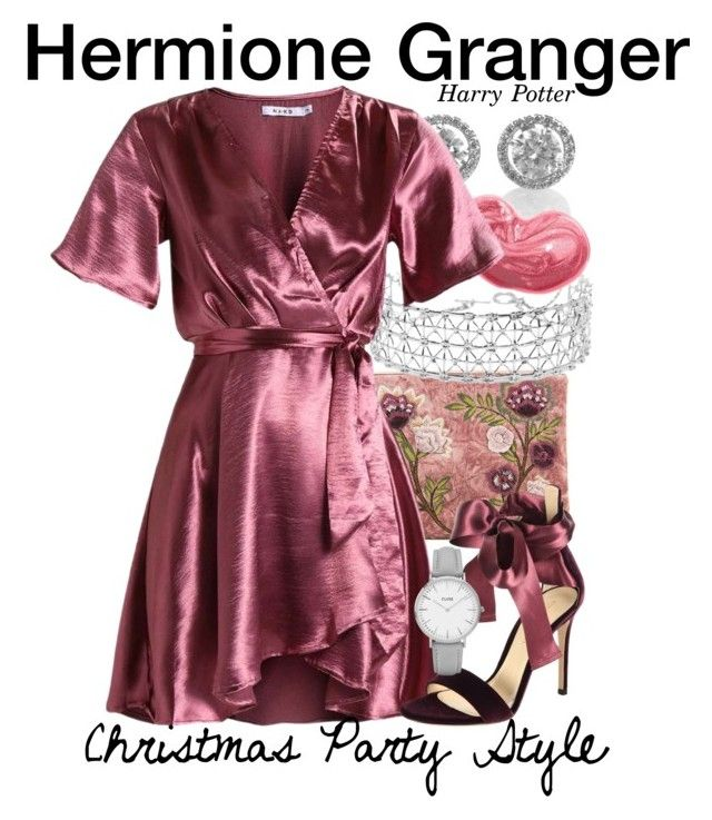 Hermione Granger - Harry Potter - CHRISTMAS PARTY STYLE .