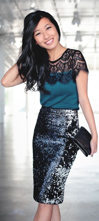 Christmas Party Outfits-20 ways to Dress up This Christmas .