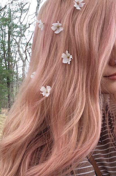 Outstanding 56 Ways To Cinch Rose Silver and Gold Hair https .